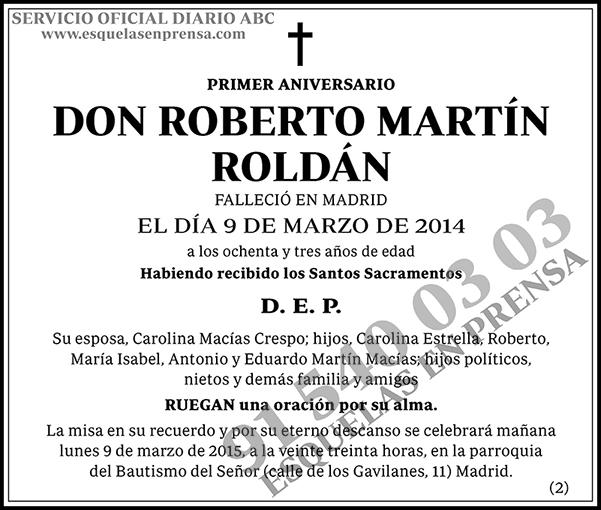Roberto Martín Roldán